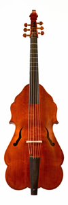 John Rose model bass viol