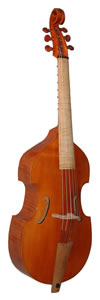 Meares style bass viol